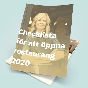 öppna restaurang 2020 checklista