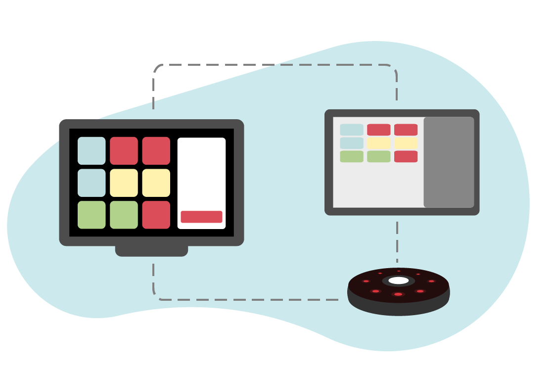 Integrated pager and POS system