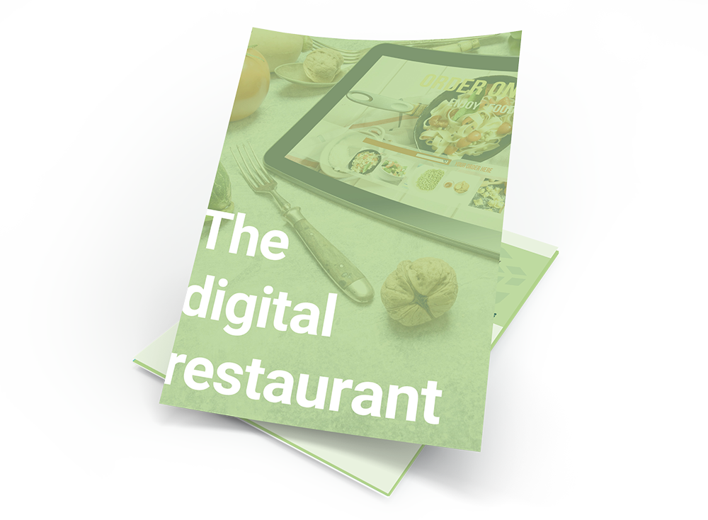The Digital Restaurant transparent english